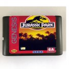 Jurassic Park 16-Bit Sega Genesis Game Reproduction NTSC Only (Tested & Working)