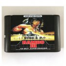 Rambo III 16-Bit Sega Genesis Mega Drive Game Reproduction (Tested & Working)