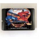 Forgotten Worlds 16-Bit Sega Genesis Mega Drive Game Reproduction (Tested & Working)