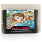Alex Kidd 16-Bit Sega Genesis Mega Drive Game Reproduction (Tested & Working)