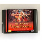 Blades of Vengeance 16-Bit Sega Genesis Mega Drive Game Reproduction (Tested & Working)