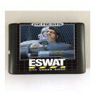 ESWAT City under Siege 16-Bit Sega Genesis Mega Drive Game Reproduction (Tested & Working)