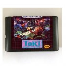 Toki Going Ape Spit 16-Bit Sega Genesis Mega Drive Game Reproduction (Tested & Working)