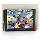 Micro Machines 16-Bit Sega Genesis Mega Drive Game Reproduction (Tested & Working)