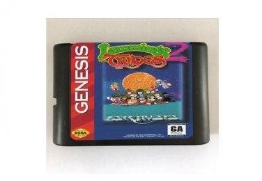 Lemmings 2 The Tribes 16-Bit Sega Genesis Mega Drive Game Reproduction (Tested & Working)