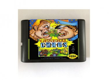 General Chaos 16-Bit Sega Genesis Mega Drive Game Reproduction (Tested & Working)