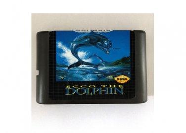 Ecco the Dolphin 16-Bit Sega Genesis Mega Drive Game Reproduction (Tested & Working)