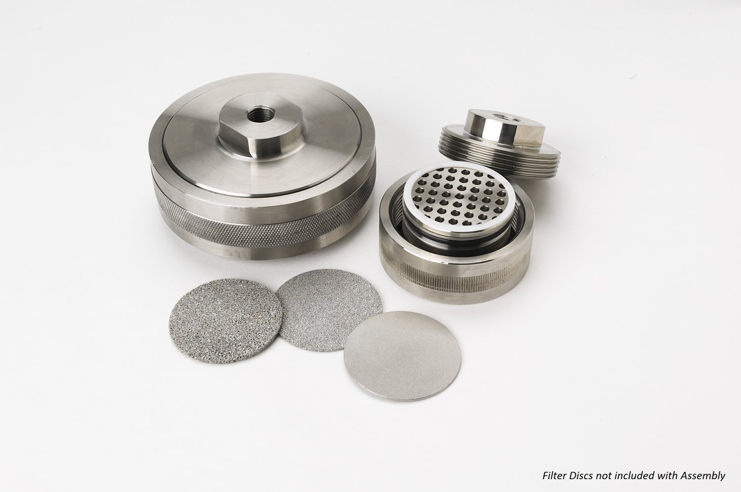 47mm Inline Filter Disc Holder Assembly