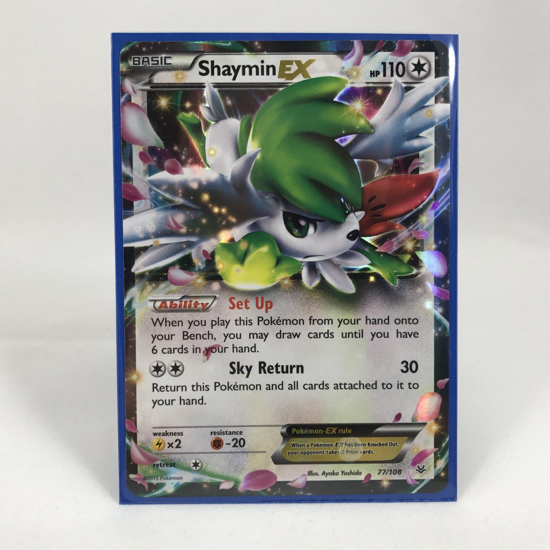 Pokemon Shaymin EX 77/108 Card MINT