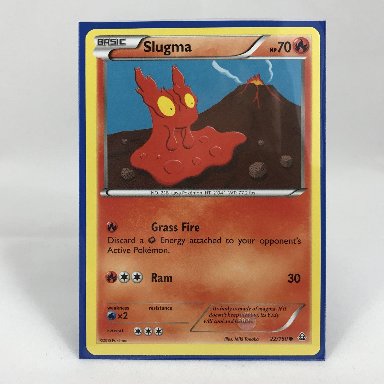 Pokemon Basic Slugma 22/160 Card MINT