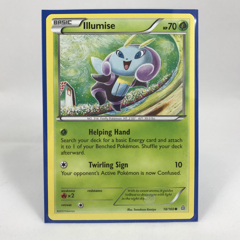 Pokemon Basic Illumise 18/160 Card MINT