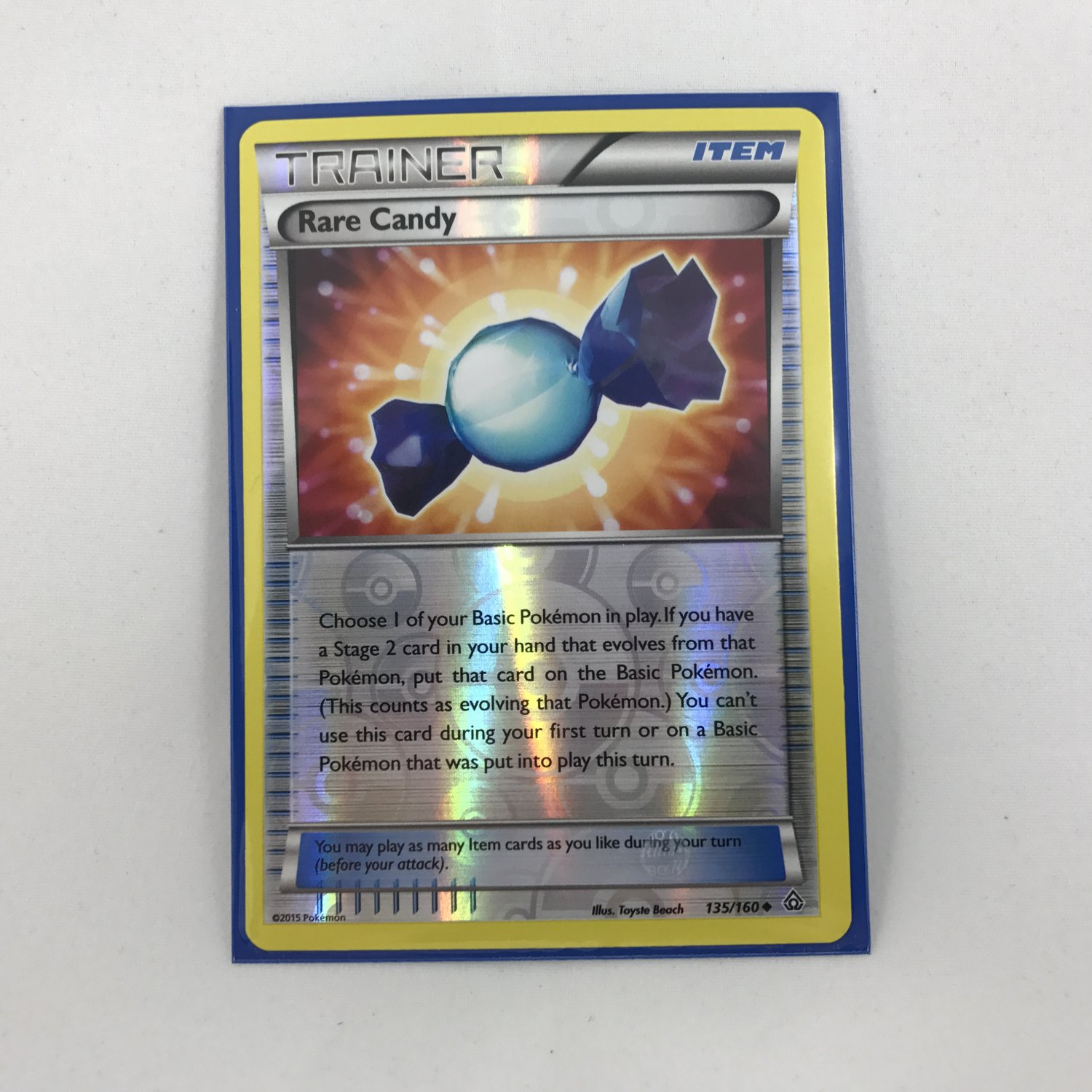 Pokemon Trainer Rare Candy 133/160 Card MINT