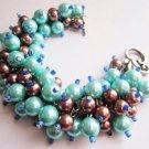 Turquoise Dream Cluster Bracelet