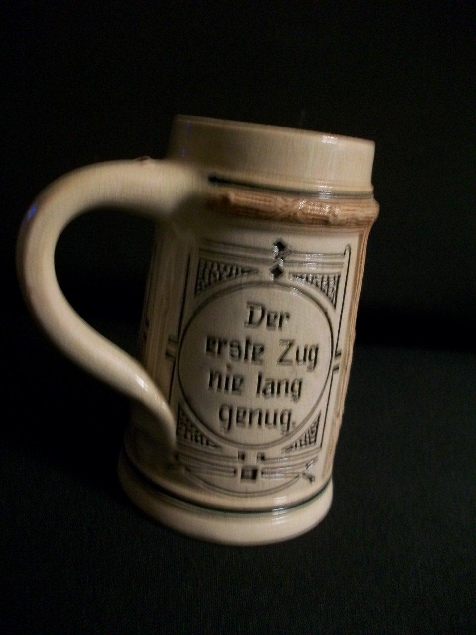 AntiqueGerman Stein Miniature