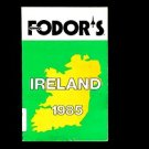 FODOR'S IRELAND 1985, Edited by Edward F. Macsweeney /ILLUSTRATED REFERENCE