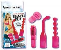 Waterproof Travel Kit Pink