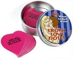 Erotic Love Notes Adult Toy