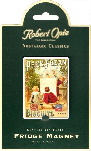 Peek Frean Biscuit Robert Opie Nostalgic Advertising Classics Tin Magnet