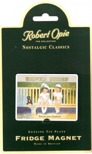 Robertson's Silver Shred Good for Complexion Golly Golli Nostalgic Classics Magnet