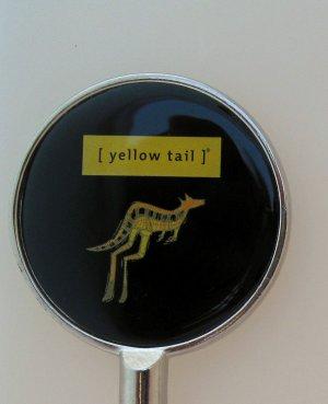 Yellow Tail Wine Kangaroo Logo LE Promo Handbag Purse Hanger Hook