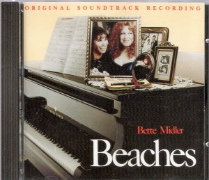 Beaches Soundtrack CD Bette Midler Wind Beneath My Wings