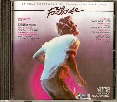 Footloose Original 1984 Soundtrack CD Kenny Loggins