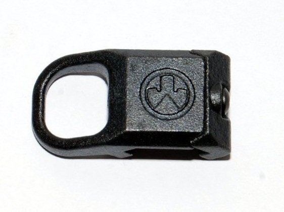 Magpul RSA Rail Sling Attachment Mount Steel Swivel Buckle Fit For Rifle Sling (Black)