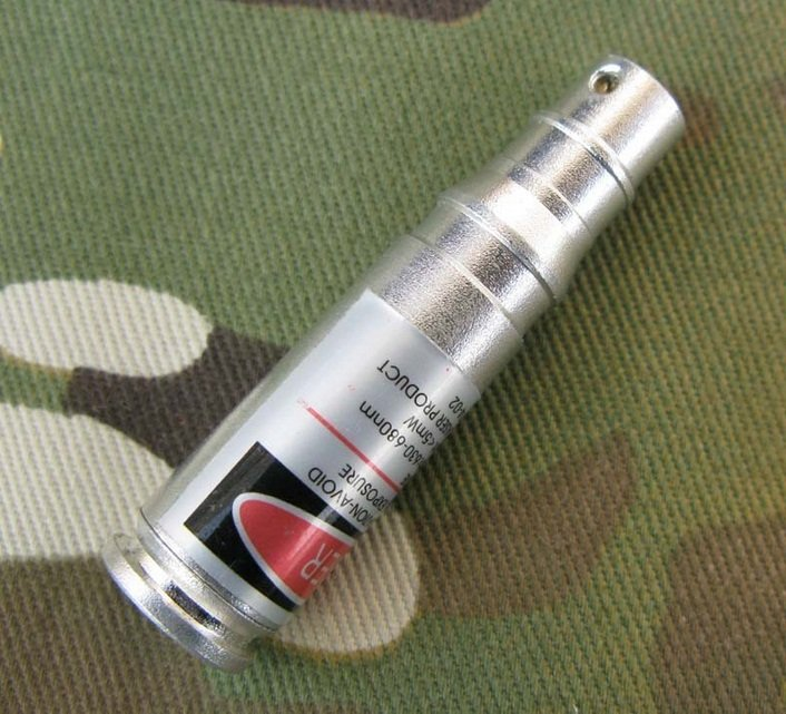 CAL: 7.62X39MM CARTRIDGE RED LASER BORE SIGHTER BORESIGHTER