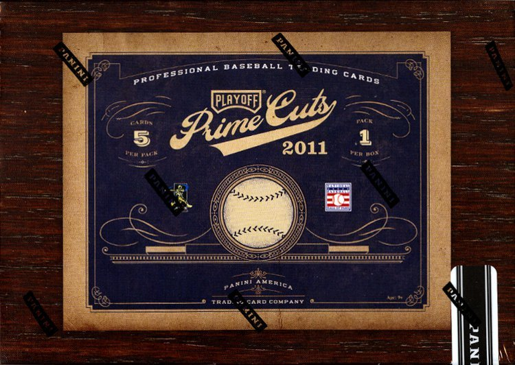 2011 Prime Cuts Baseball Card Package