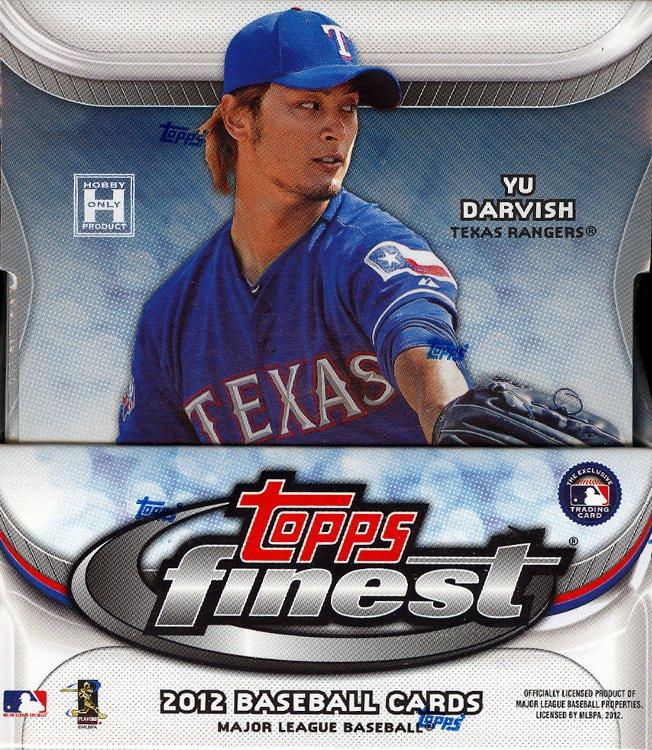 2012 Topps Finest Baseball Card Package