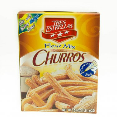 Tres Estrellas Churros Mix 17.6ozs 17.6 o