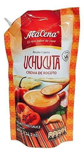 Uchucuta paste Chili sauce peruvian food salsa big