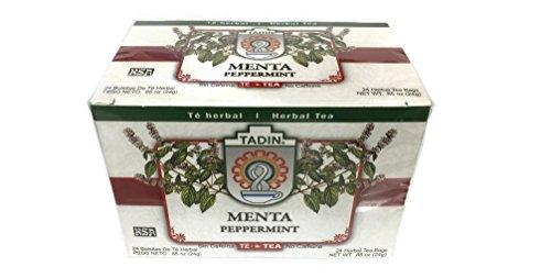 Tadin Peppermint Herbal Tea Te de Menta