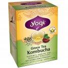 Yogi Teas Organic Green Tea Kombucha 16 tea bags 32 g (1.1 oz)