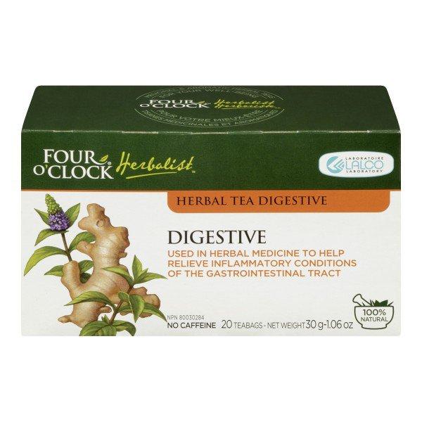 Four O'Clock Herbal Digestive Tea 20 tea bags