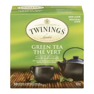 Twinings Green tea 50 tea bags Camelia Sinensis