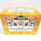 Tadin Chamomile Camomile flowers Herbal Tea Camomila Manzanilla Tea • Digestive Tea