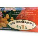 Ann Instant Honeyed Ginger Drink 18 tea bags • Throat soothing Herbal Tea