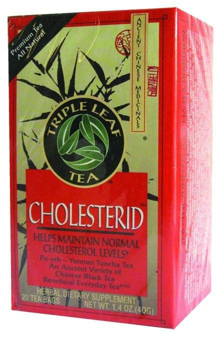 Triple Leaf Tea Cholesterid - 20 Tea Bags
