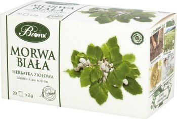 BIFIX Bi Fix morwa biala White Mulberry Supplement Herbal Tea BIOFIX