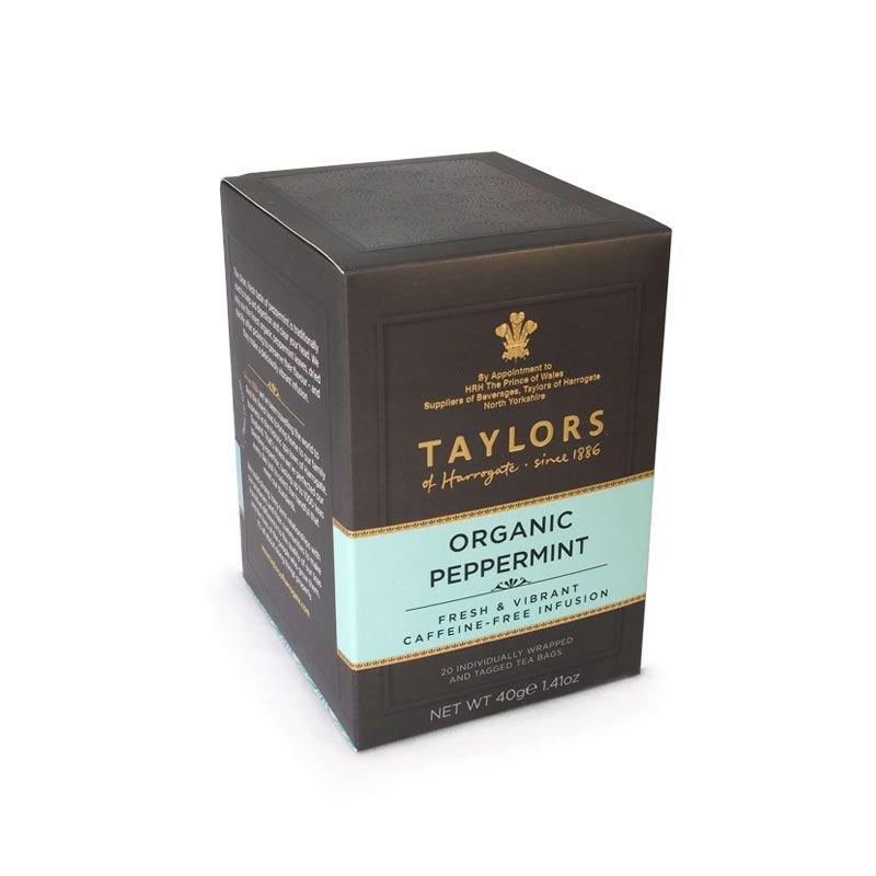 Taylors of Harrogate Organic Peppermint 20 sachets