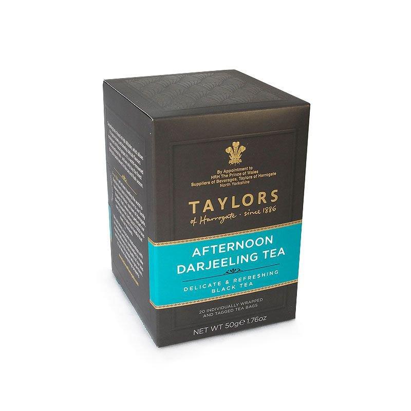 Taylors of Harrogate Afternoon Darjeeling 20 Envelope Tea Bags
