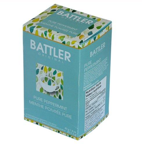 Battler Tea - Original - Pure Peppermint 20 Tea Bag Sachets