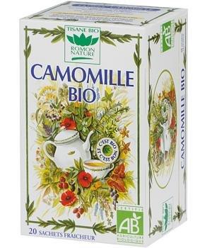 ROMON NATURE Tea Tisane Organic Camomille Camomile Herbal tea 20 sachets