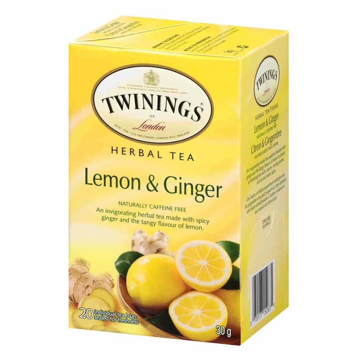 Twinings Lemon Ginger Herbal Tea