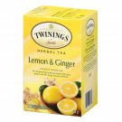 Twinings Lemon Ginger Herbal Tea 20 tea bags