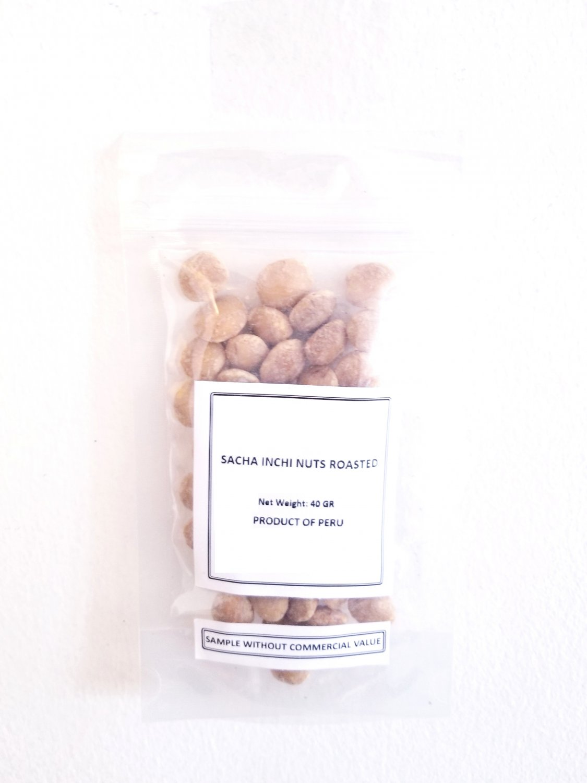 Sacha Inchi Roasted Nuts - Inca Peanuts - Inka Nut 44 lb 20 kg Export Quality Roasted Keto Food