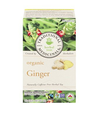 Traditional Medicinals Organic Ginger 20 tea bags