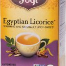 Yogi Teas - Organic Egyptian Licorice Herbal Tea - 16 Bags 36 g