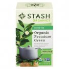 Stash Organics Premium Green Tea 18 tea bags